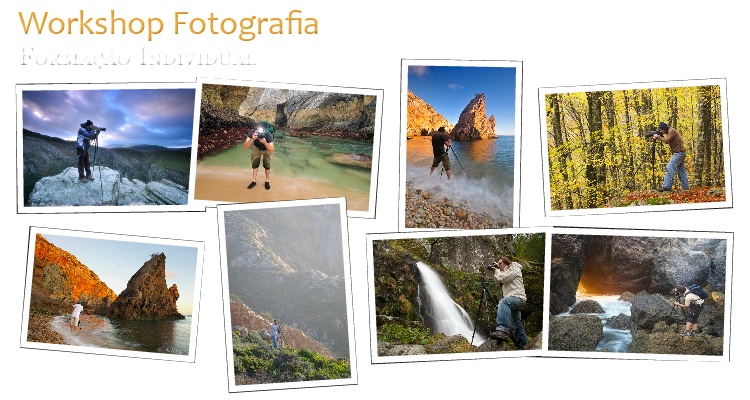 Photography Workshop One-to-One web Flyer Promo HelioCristovao